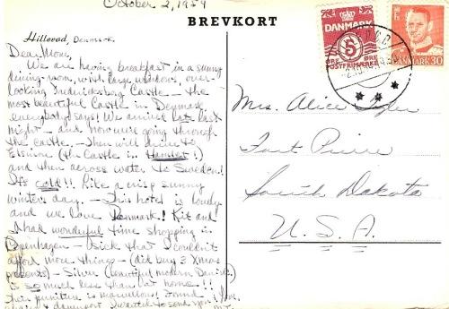 Leidersdorff postcard